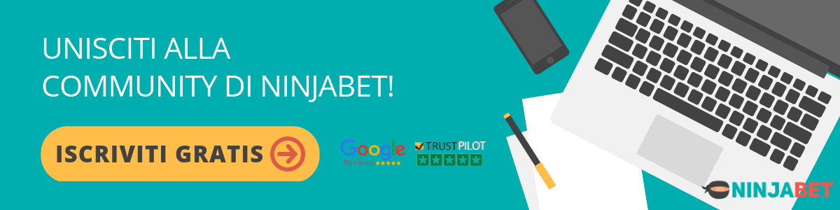 Matched Betting con NinjaBet.it